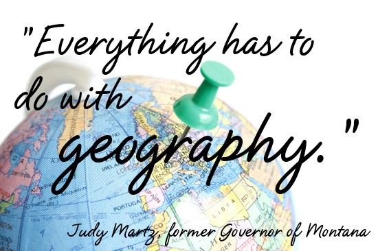 Geography Quote 5 Picture Quote #1