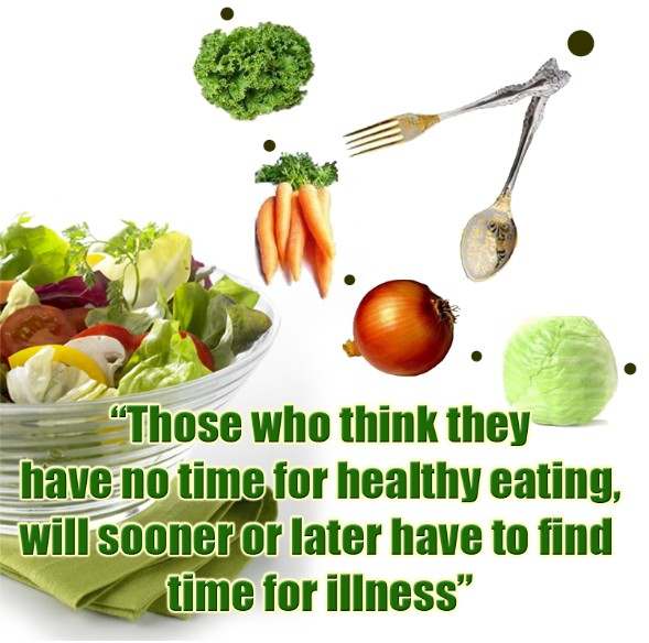 Healthy Food Quote 1 Picture Quote #1