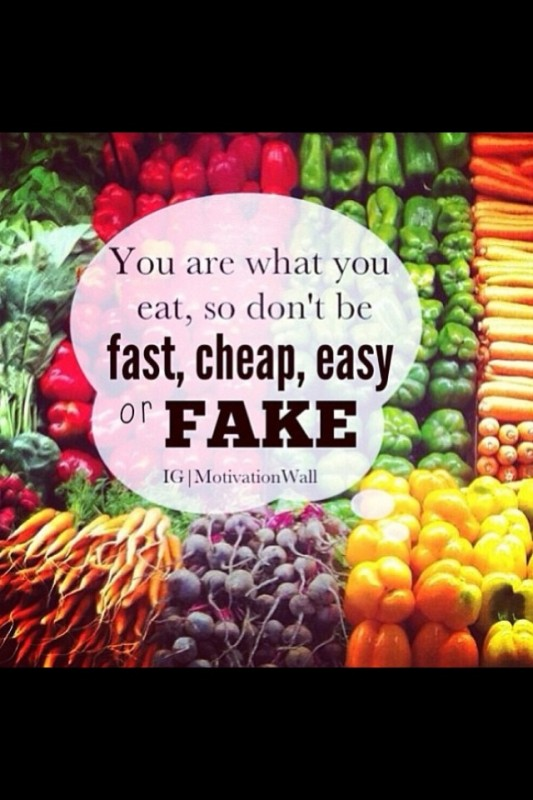 Healthy Food Quote 4 Picture Quote #1