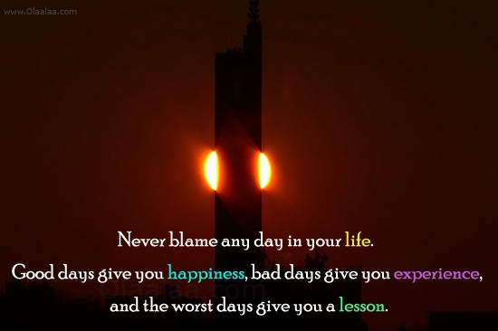 Good Days Bad Days Quote 1 Picture Quote #1