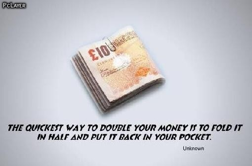 Funny Quote About Saving Money 1 Picture Quote #1