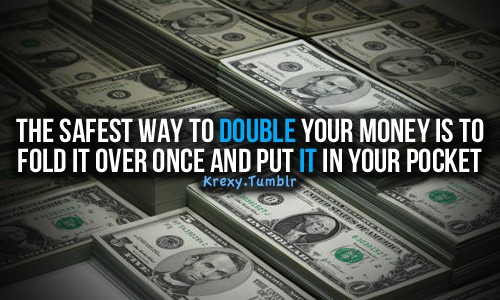 Funny Quote About Saving Money 2 Picture Quote #1