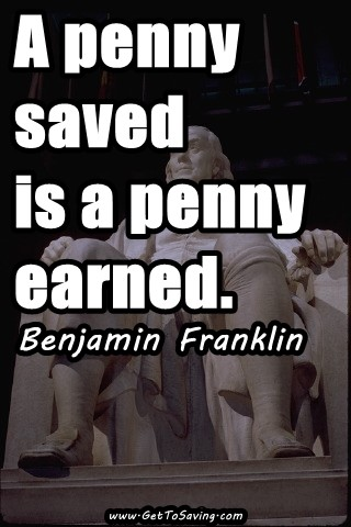 Saving Money Quote 10 Picture Quote #1