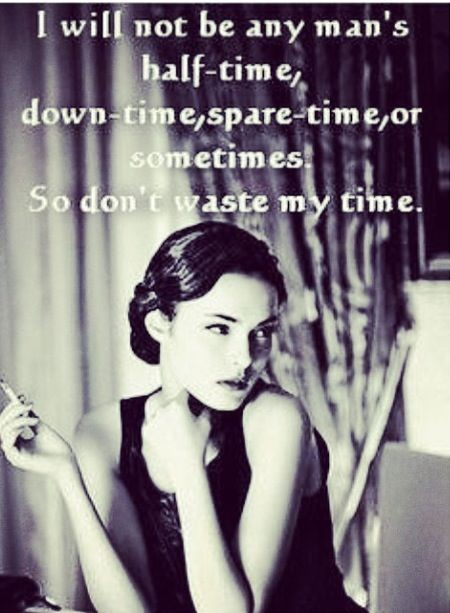 Dont Waste My Time Quote 1 Picture Quote #1