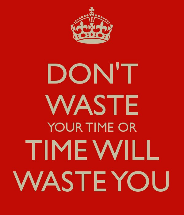 Dont Waste Your Time On People Quote 1 Picture Quote #1