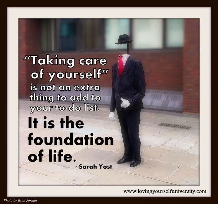 Take Care Of Yourself Quote 2 Picture Quote #1