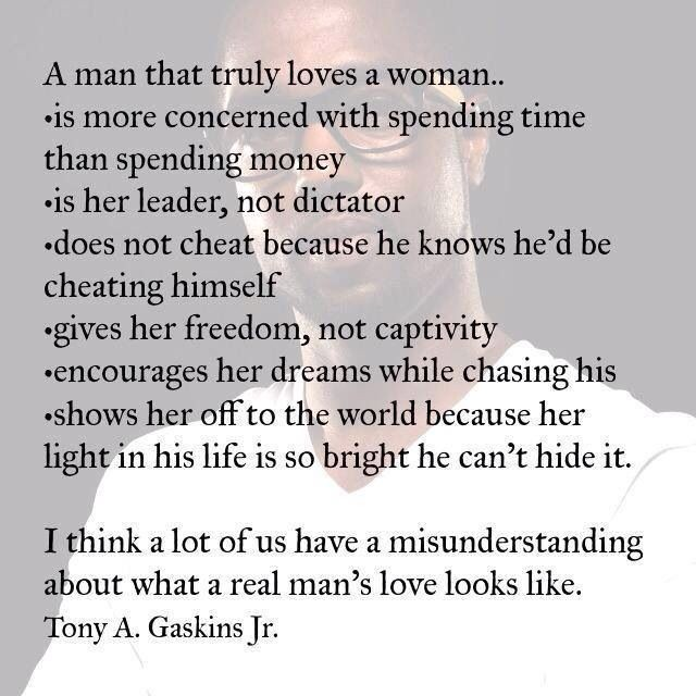 When A Man Loves A Woman Quote 3 Picture Quote #1