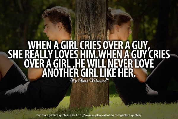 When A Man Loves A Woman Quote 4 Picture Quote #1
