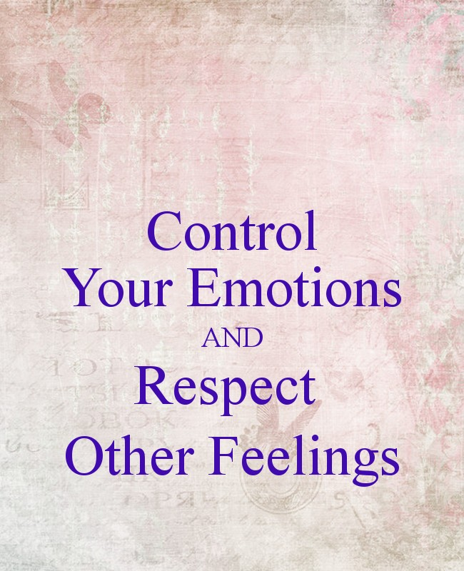 Respect Others Feelings Quote 2 Picture Quote #1