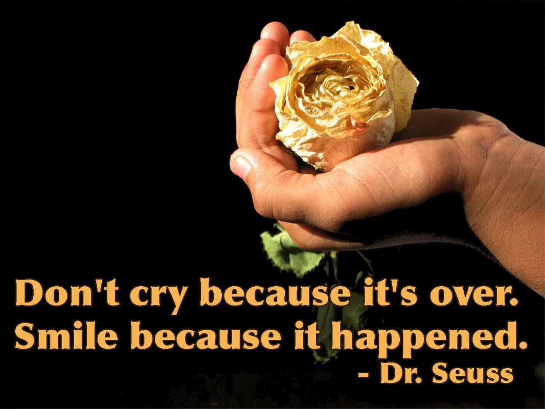 Dont Cry Quote 2 Picture Quote #1