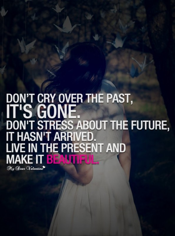Dont Cry Quote 3 Picture Quote #1