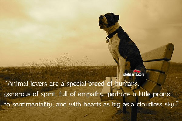Animal Lover Quote 3 Picture Quote #1