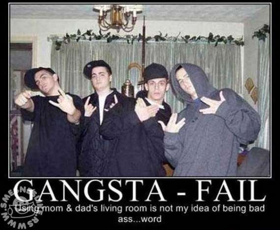 Funny Gangster Quote | Quote Number 707834 | Picture Quotes