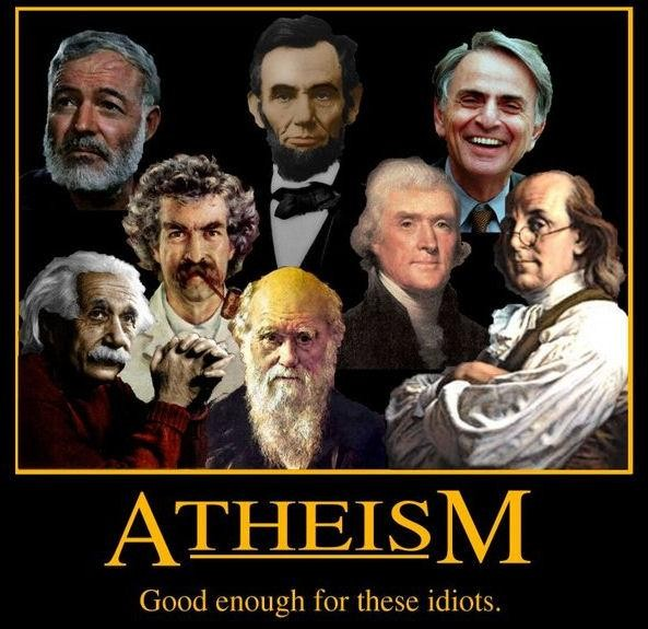 Famous Atheist Quote 5 Picture Quote #1