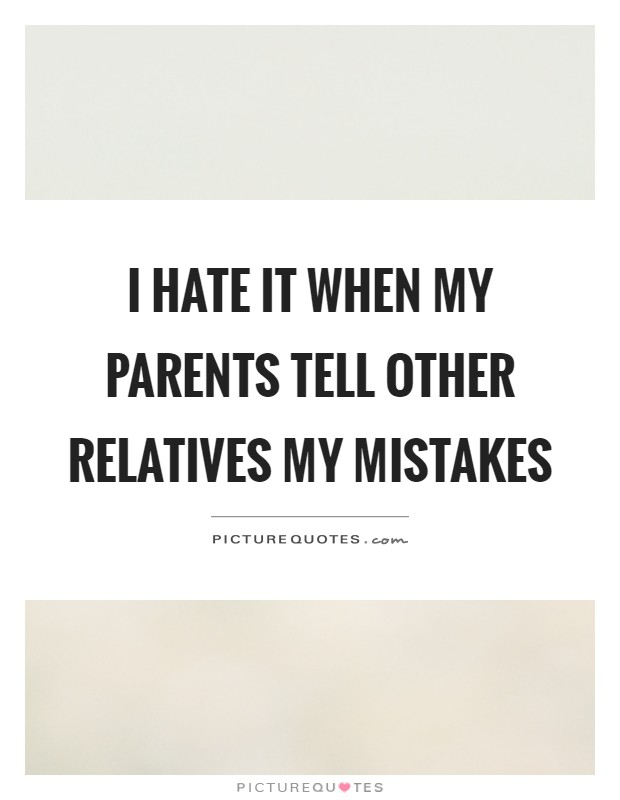 My Mistakes Quotes &am...