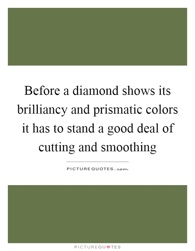 Diamond cutting quotes