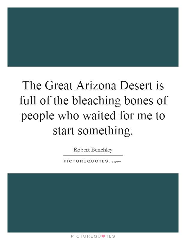 An analysis of the great arizona