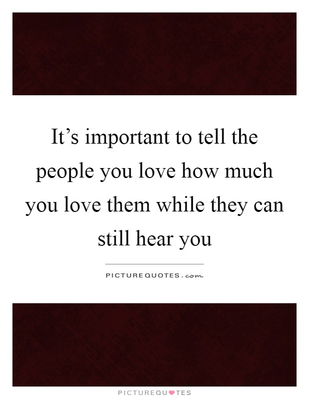 Love people you tell the The Five