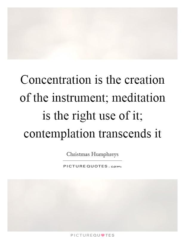 christmas humphreys concentration and meditation pdf