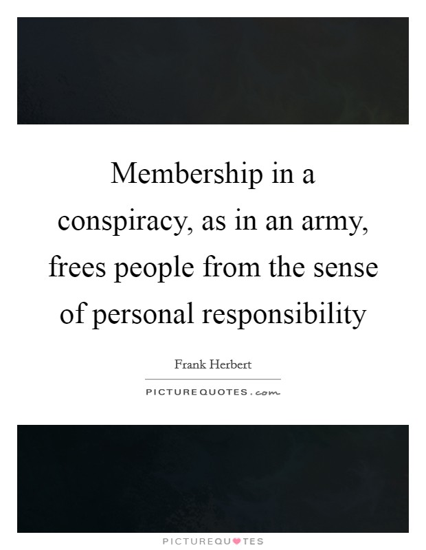 the importance of personal accountability in the army With the personal or political ambitions of senior military officers and leading   indispensable role, holding members of the military personally accountable to.