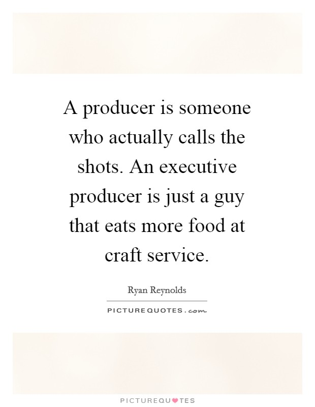 how to find an executive producer