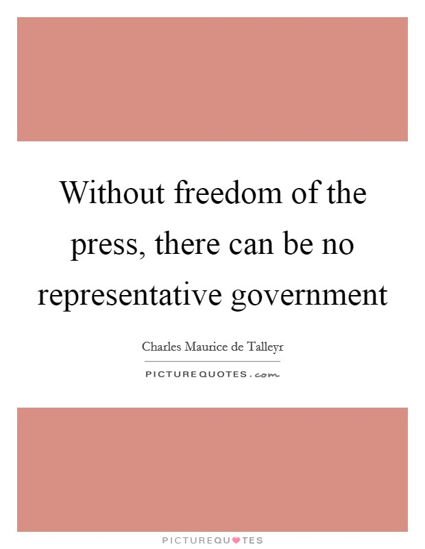 there can be no freedom without discipline While freedom of speech in the united that there is no constitutional value with the requirements of appropriate discipline in the.