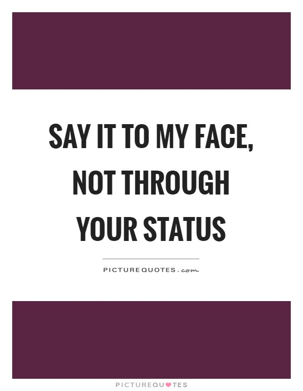 Quotes status STATUS QUOtes