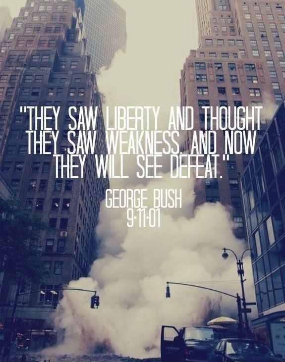 They saw liberty and thought they saw weakness, and now they will see defeat Picture Quote #1