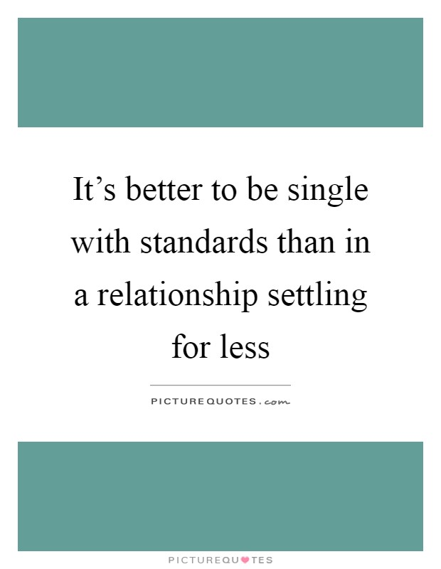 dating-settling-for-less