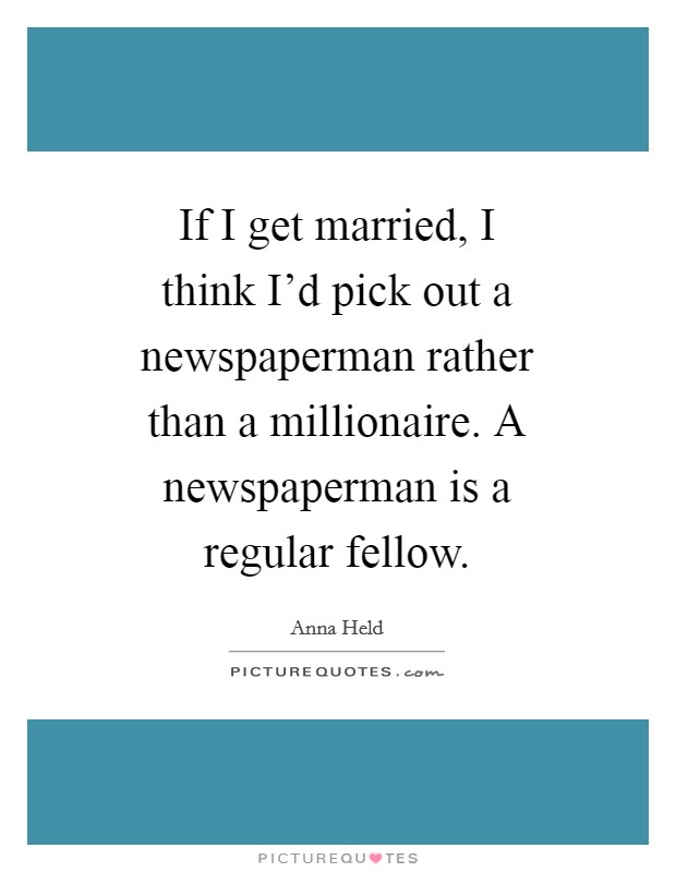 Summary i married a newspaperman