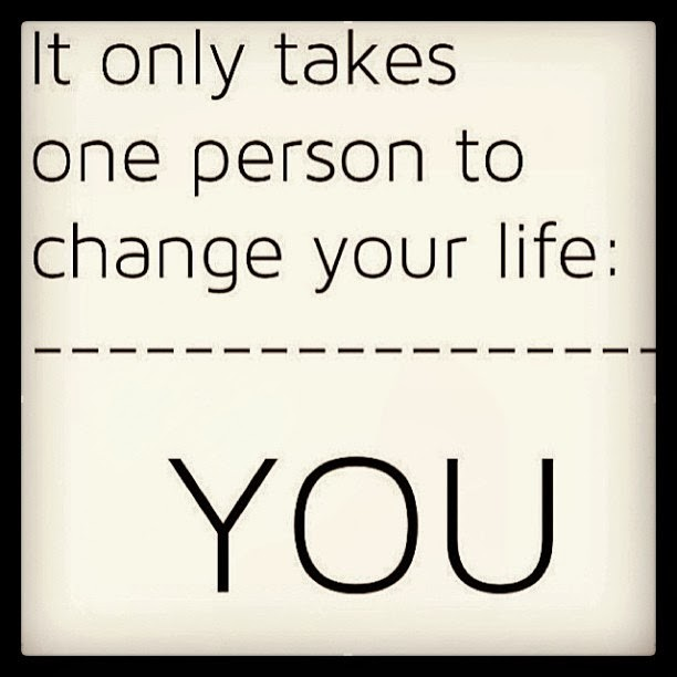 Only You Can Change Your Life Quote 3 Picture Quote #1