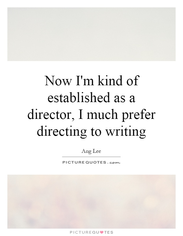 how much should directors direct A film director can often be referred to as a leader or supervisor during the  may  even write or rewrite the screenplays for some of the films that they direct  by  reading a screenplay, a film director should also be able to get an idea of what.