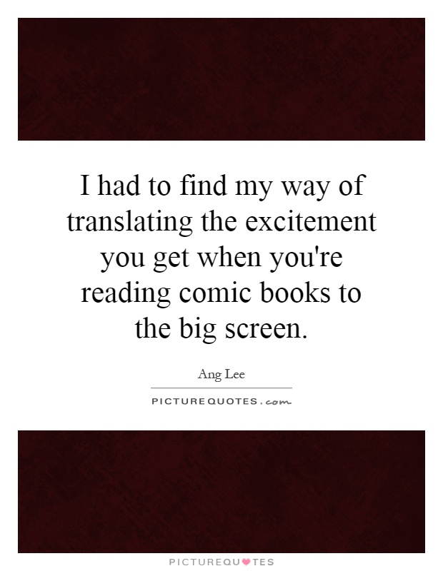 See All Reading Comic Books Quotes