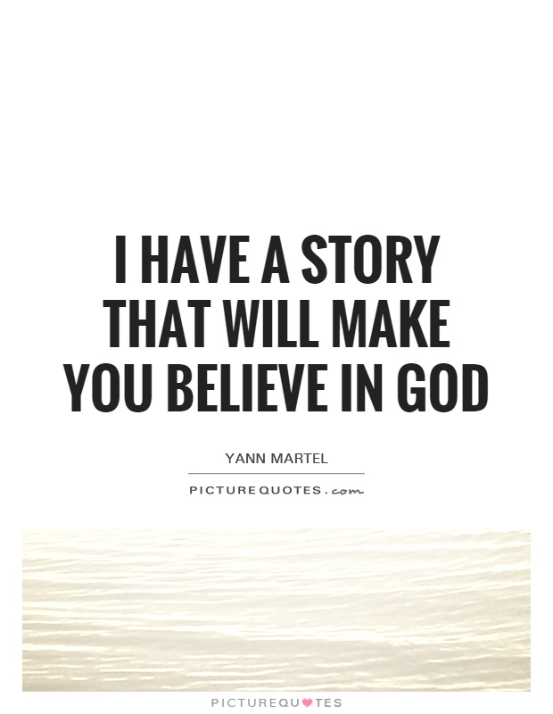 believe god essays