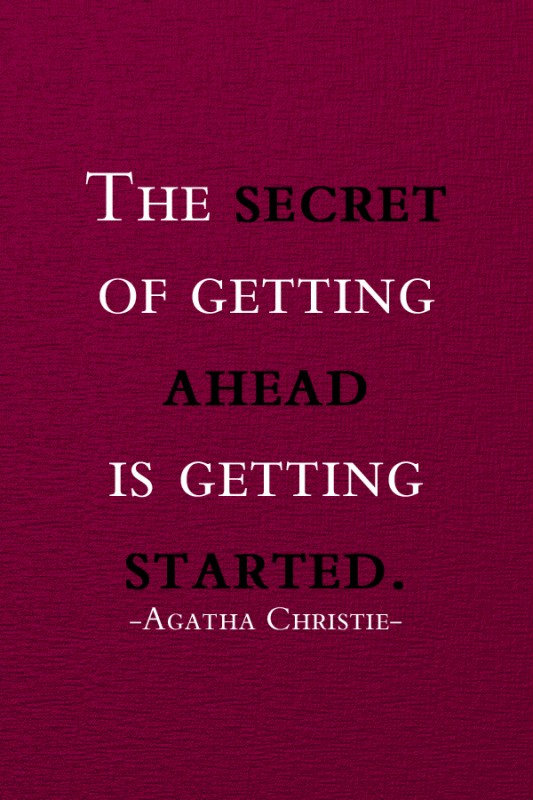 Agatha Christie Quote 1 Picture Quote #1