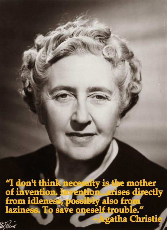 Agatha Christie Quote 8 Picture Quote #1