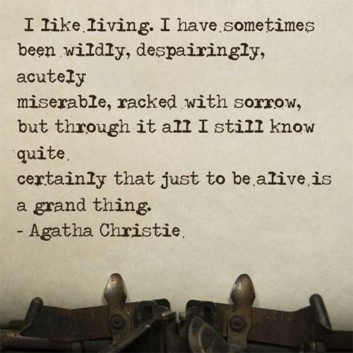 Agatha Christie Quote 9 Picture Quote #1