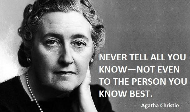 Agatha Christie Quote 12 Picture Quote #1