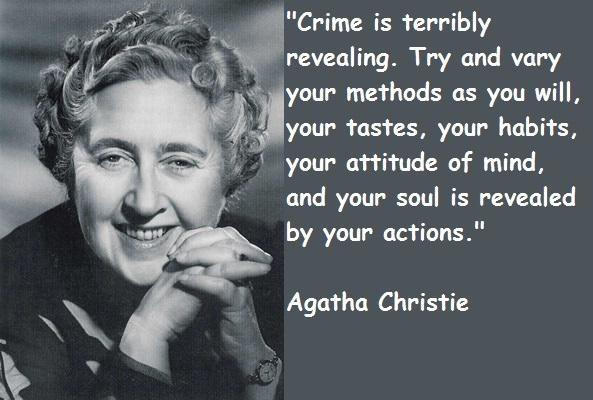 Agatha Christie Quote 14 Picture Quote #1