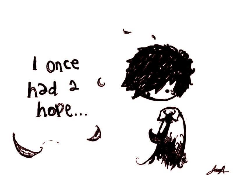 I Lost Hope Quote 1 Picture Quote #1