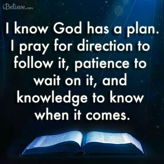I Know God Has A Plan For Me Quote | Quote Number 732052 ...