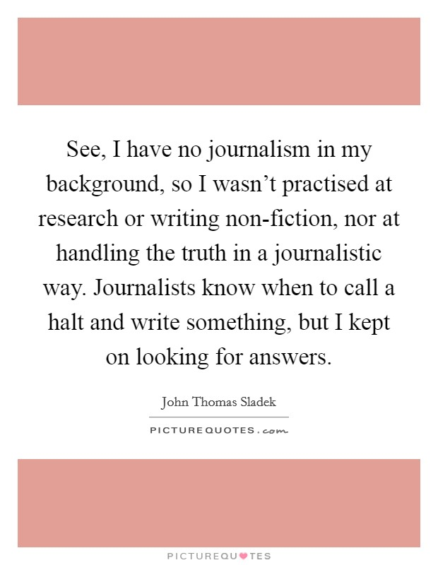 Journalistic Writing Quotes Sayings Journalistic Writing Picture