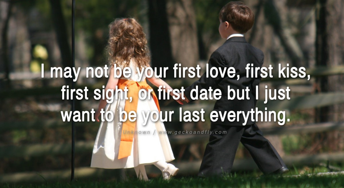 Our First Date Quote 1 Picture Quote #1