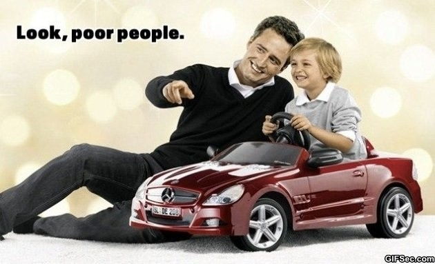 Poor People Funny Quote 1 Picture Quote #1