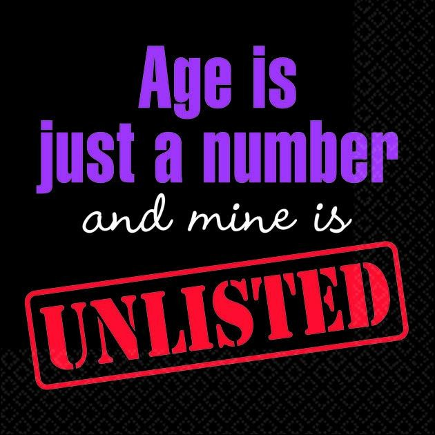 Age Is Just A Number Quote 3 Picture Quote #1