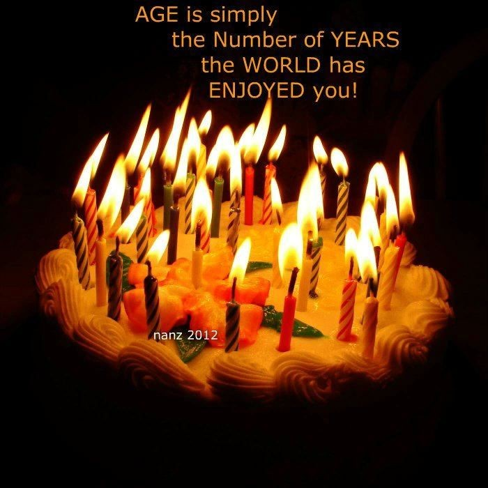 Birthday Quote Age Is Just A Number 2 Picture Quote #1