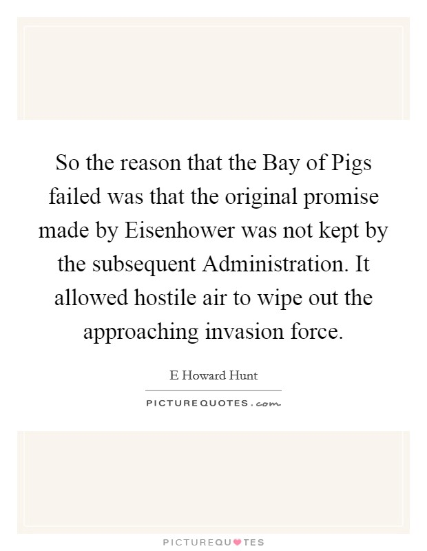 the description of the famous bay of pigs fiasco Two months after the bay of pigs, jack had regained confidence and was set to meet in vienna with nikita khrushchev, the leader of the soviet union looking to prove himself as a formidable world leader, jack planned to speak with khrushchev, a man known for his frankness and imposing.