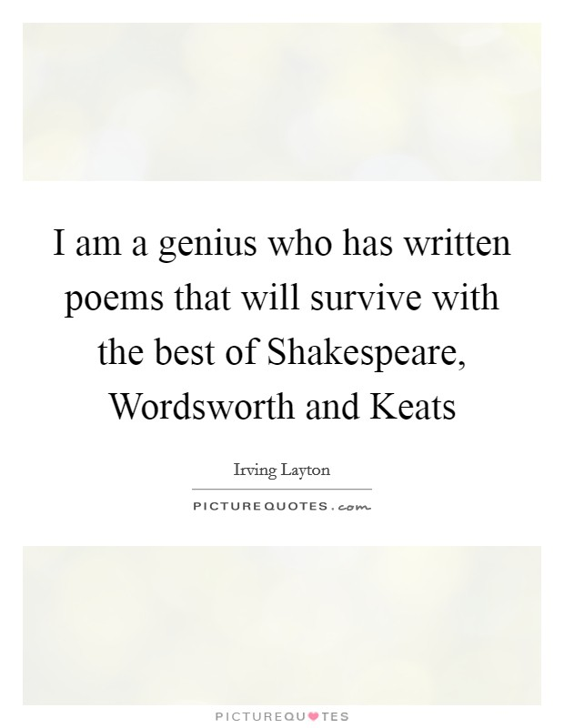 wordsworth and keats The romantic imagination between coleridge , blake , words worth and keats - download as word doc (doc), pdf file (pdf), text file (txt) or read online.