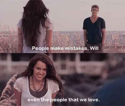 People make mistakes, Will - even the people that we love Picture Quote #1