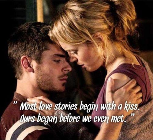 Most love stories begin with a kiss. Ours began before we even met Picture Quote #1